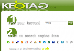 Keotag - Tag Search Engine and Generator
