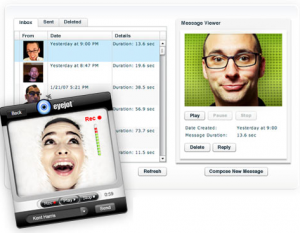 Send Video Messages form your Browser with Eyejot