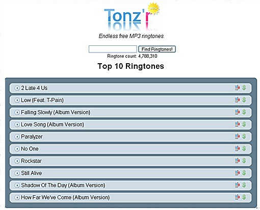 download ringtone nextel: