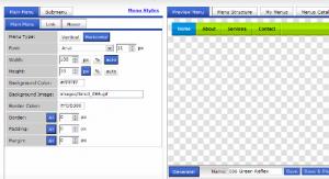 Create professional CSS/DHTML Menu with IzzyMenu