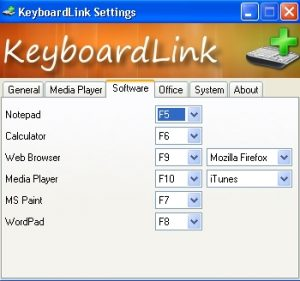 Create Keyboard Shortcuts for Your PC apps with KeyboardLink