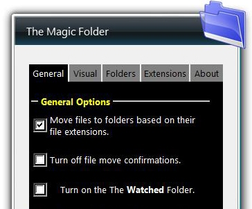 Manage your folders with Magic Folder