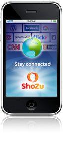 Share iPhone photos with Shozu