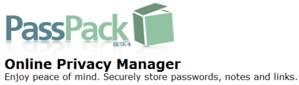 Passpack - Secure online password manager