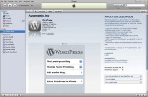 WordPress for iPhone Available Now