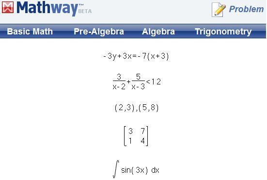 Mathway account - Portfolio protection on