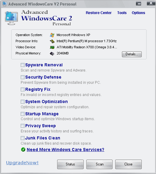 Advanced-windowscare-2-personal. advanced windowscare 2 personal.
