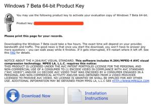 Download Windows 7 Product Keys