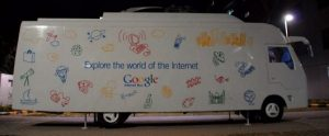 Google Introduce Internet Bus in India