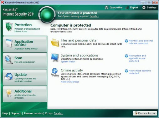 Download Free Kaspersky Internet Security 2010 Trail Ver