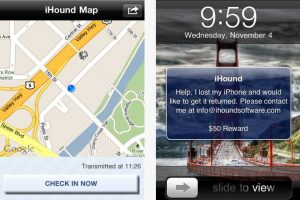 Find Lost iphone ipad