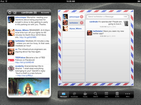 Twittelator, Ipad app, Twitter, iTunes