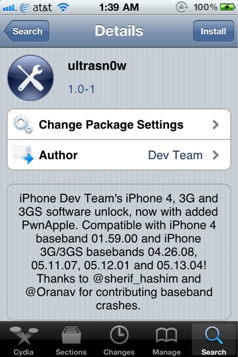 iphone4 ultrasn