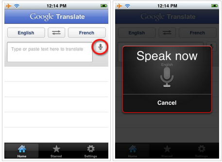 google translate app. Google Translate app for