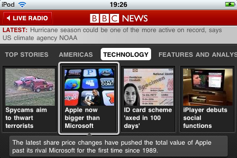 bbc news ipad app Top 30 Best iPad 2 Apps and Games