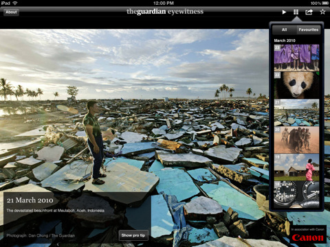guardian eyewitness ipad app Top 30 Best iPad 2 Apps and Games
