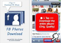 facebook, fb photos download, iphone, iphone apps