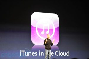 icloud, itunes, itunes in the cloud