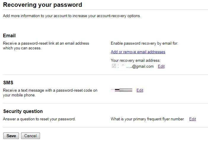 Awesome ways to secure gmail account