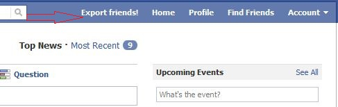 export friends How to use Facebook Friend Exporter Transfer Facebook Friends to Google+