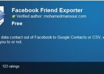facebook-friends-exporter
