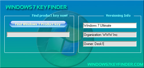 keyfinder for windows 7