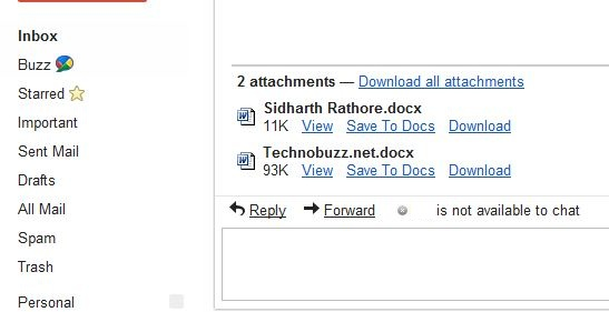how to send google docs as attachments
