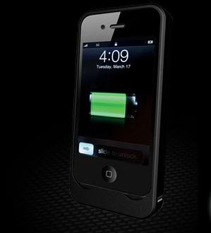 AP1201 iPhone Silicon Case Rechargeable battery