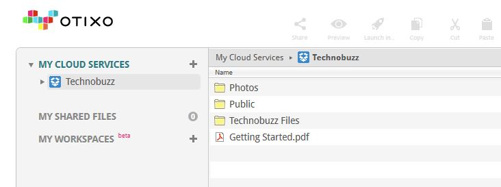 Files from a Linked Cloud Service