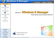 Windows 8 Manger