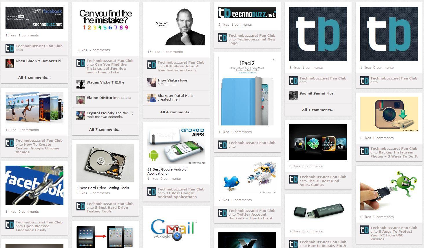 Pinvolve Technobuzz Page