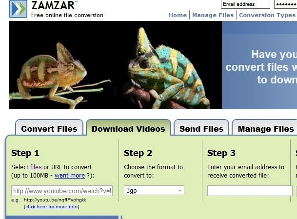 Zamzar Youtube Downloader