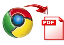 Save Web Pages as PDF in Chrome