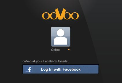 ooVoo Facebook Login