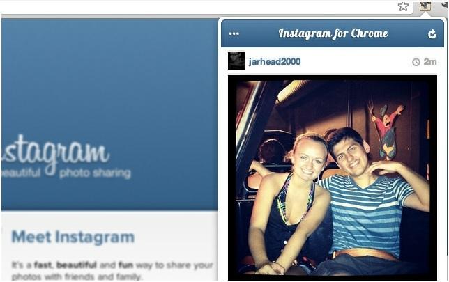 Instagram For Chrome Extension