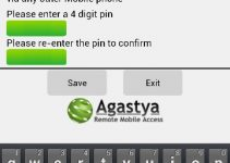 Agastya (Remote Mobile Access) Android App