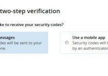 Enable 2 Step Verification