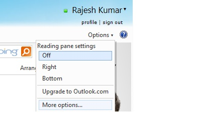 Upgrade to Outlook