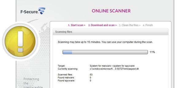 VirScan Online Scanner