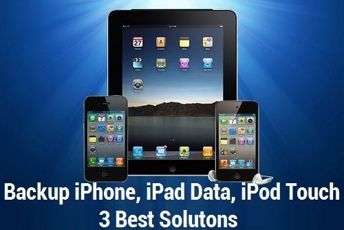 Backup iPhone iPad