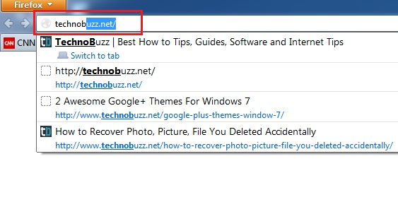 Disable Address bar auto completes Feature