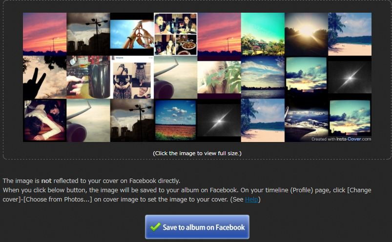 Instacover Final Preview