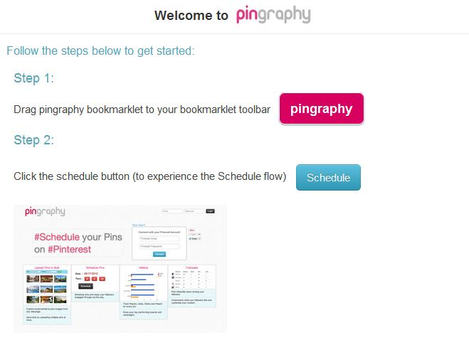 Pingraphy bookmarklet