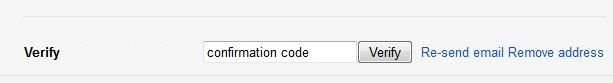 Gmail Forwarding Confirmation Code
