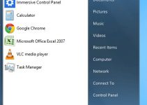 Start Menu On WIndows 8