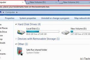 Tabs in Windows Explorer