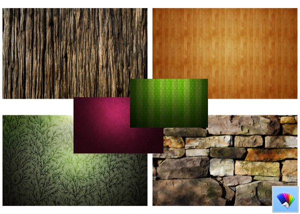 Textures theme for Windows 8