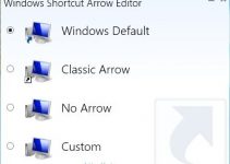 Windows Shortcut Icon Removal