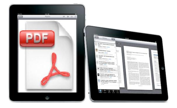 Convert PDF Files into iPad iBook With Dropbox
