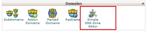 Hosting Domain Section